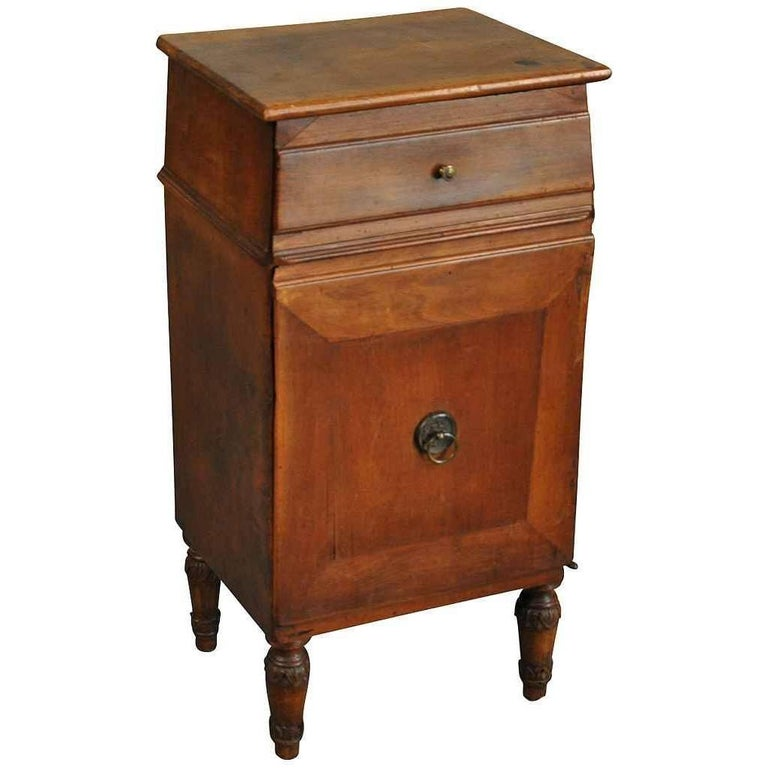 Italian Early 19th Century Side Cabinet or Nightstand For Sale