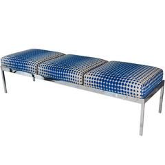 Polished Chrome Bench by Arthur Elrod