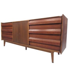 Mid-Century Walnut Dresser by Lane