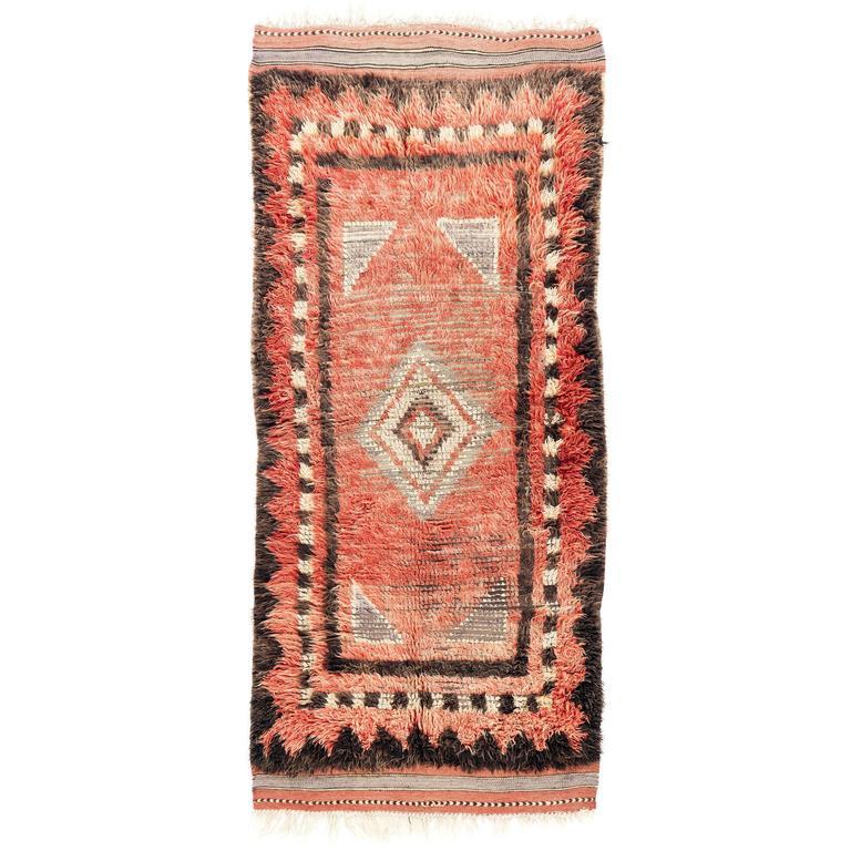 Antique Central Anatolian Tulu Rug