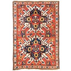 """Antique Caucasian Chelaberd """"Eagle Kazak"""" Rug, 19th Century"""