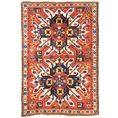 "Antique Caucasian Chelaberd ""Eagle Kazak"" Rug, 19th Century"