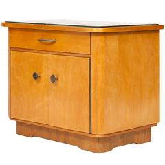 Art Deco Side Table in Ash