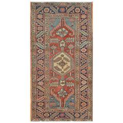 Antique Small Persian Heriz Rug