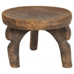 Old Hehe Tribe, Africa, Three-Leg Stool