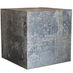 Side Table Made from Industrial Element, France