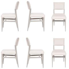 Maze Lacquered Dining Chair Set of Six