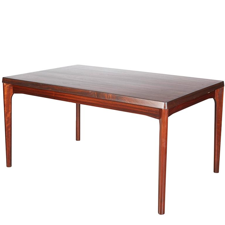 Rosewood Dining Table by Henning Kjaernulf 1