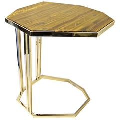 "Tiger's Eye ""C"" Table"