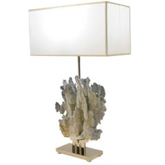 Blue Coral Lamp