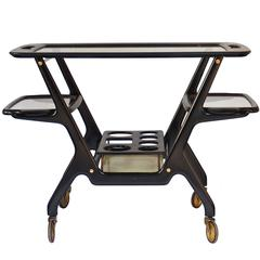 Cesare Lacca Drinks Trolley or Bar Cart