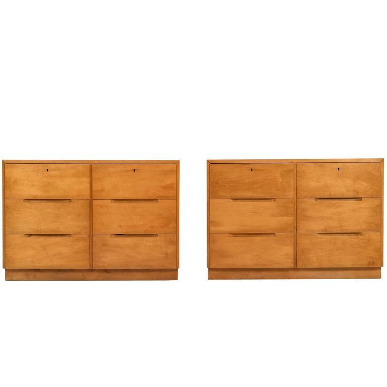 Pair of Alvar Aalto Cabinets for Finsven