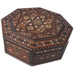 Syrian Octagonal Box, circa 1900