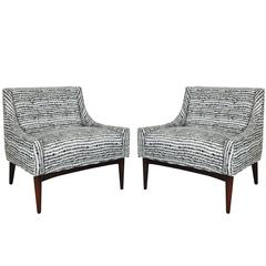 Pair of Milo Baughman Chairs for James Inc