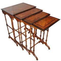 19th Century Quartetto Nest of Tables
