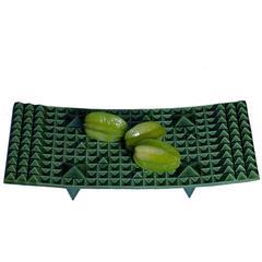 Amasumpa Green Ceramic Centerpiece by Marisa Fick Jordan for Bosa, Italy