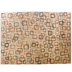 Modernist Scandinavian Wool Rug
