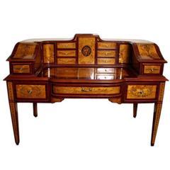 Beautiful Satinwood Carlton House Desk