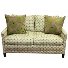 Contemporary Custom Upholstered Love Seat by Lee Industries
