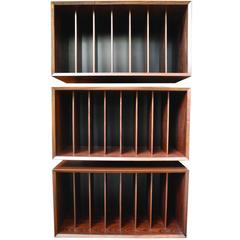 Rosewood Cado System Wall Unit for Book Shelving and Record Storage, Denmark