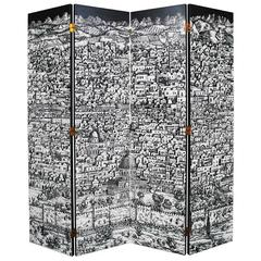 Jerusalem Folding Screen, Piero Fornasetti 1913-1988