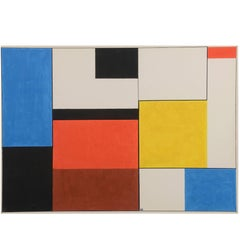 Geometric Composition by Etienne Beothy, 1949