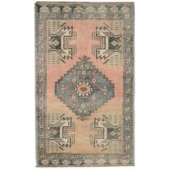 Anatolian Vintage Rugs, Small Size Turkish Rugs