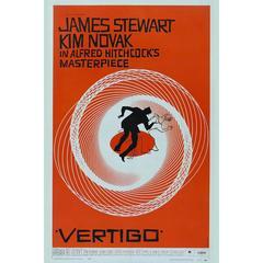 """""""Vertigo"""" Film Poster, 1958"""