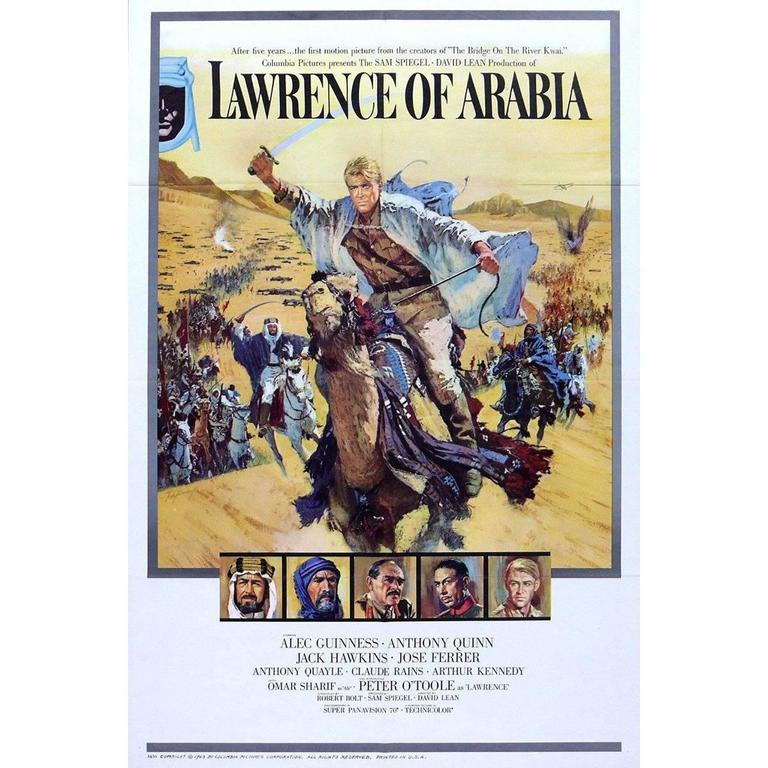 """""""Lawrence of Arabia"""" Film Poster, 1962"""