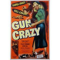 """Gun Crazy"" Film Poster, 1950"
