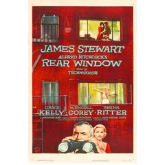 """""""Rear Window"""" Film Poster, 1954"""