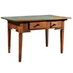 Eastern European Side Table, Mid-19th Century