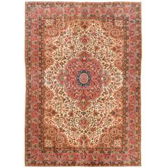 Traditional Turkish Rug with a Classic Design