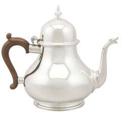 Vintage Sterling Silver Teapot, 1975