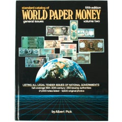 Standard Catalogue of World Paper Money by Albert Pick