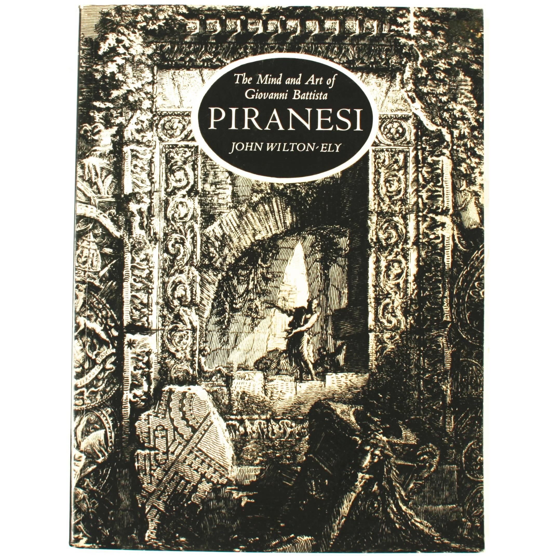 """The Mind and Art of Giovanni Piranesi"" Book by John Wilton-Ely, First Edition"