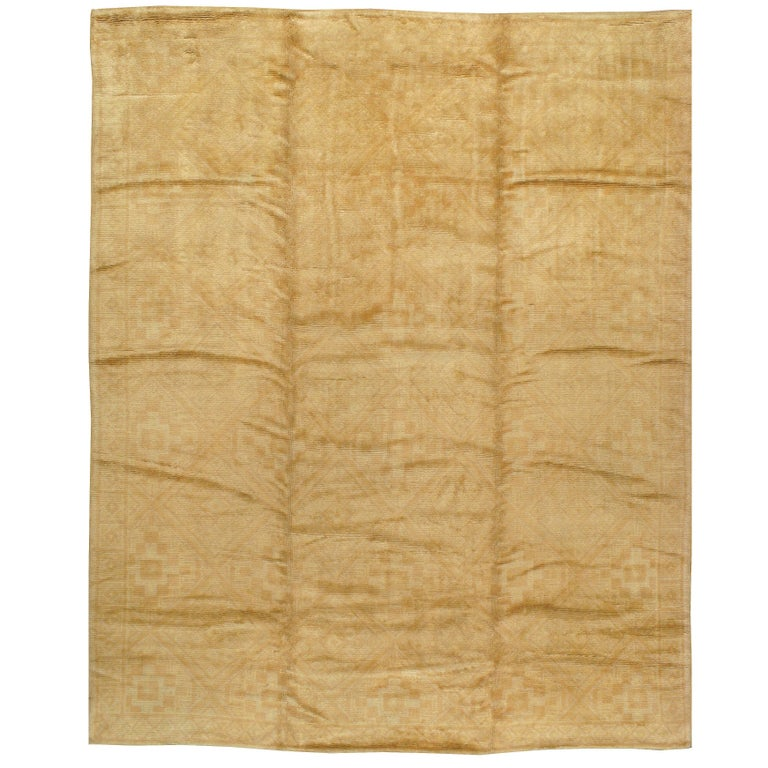 Vintage Spanish Cuenca Carpet For Sale
