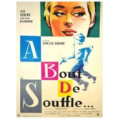 """""""À Bout De Souffle"""" Film Poster, 1960"""