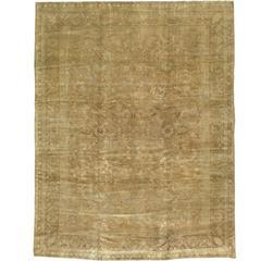 Antique Indian Agra Rug