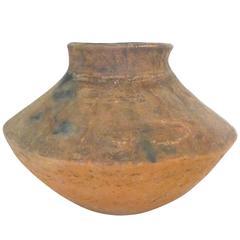 Primitive Terracotta Double-Cone Vase