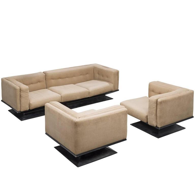 Lounge Set by Luigi Pellegrin for MIM Roma