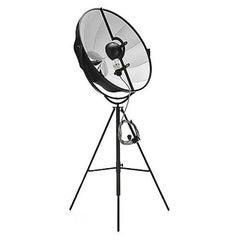 1907, Mariano Fortuny for Palluco Italia, Photographer Lamp in Original Black