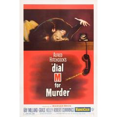 """Dial M For Murder"" Film Poster, 1954"
