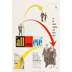 """""""All About Eve"""" Film Poster, 1950"""