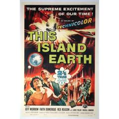 """""""This Island Earth"""" Film Poster, 1955"""