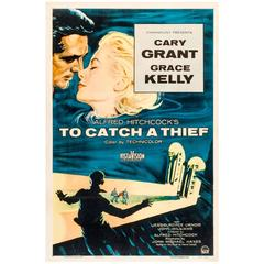"""""""To Catch A Thief"""" Film Poster, 1955"""