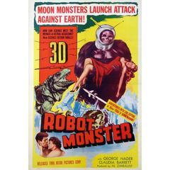 """""""Robot Monster"""" Film Poster, 1953"""