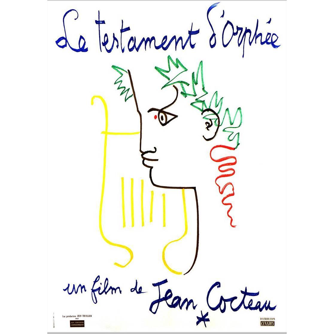 """""""Le Testament D'orphée"""" Film Poster, 1960"""