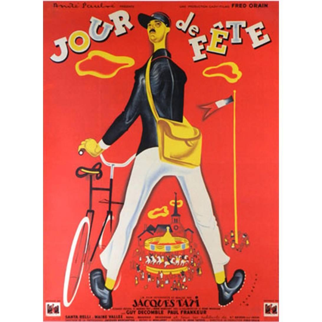 """""""Jour De Fête"""" Film Poster, 1949"""