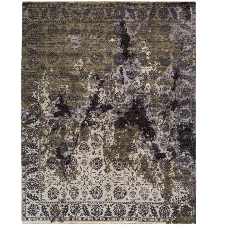 Fine Looking Contemporary Rose Wood Rug For Sale At 1stdibs